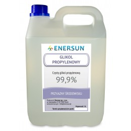 GLIKOL 6 KG PROPYLENOWY 99,9% ENERSUN 5L