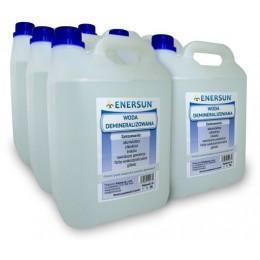 Woda demineralizowana Enersun 6 x 5 l kanister