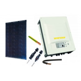 ZESTAW FOTOWOLTAICZNY PV PANEL EXE SOLAR On-grid 5 kW INSTALACJA NA DACH PŁASKI