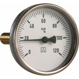Termometr Bimetaliczny 120°C FI 63 Narurowy AFRISO