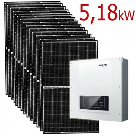 Zestaw Fotowoltaiczny 5,18 kW